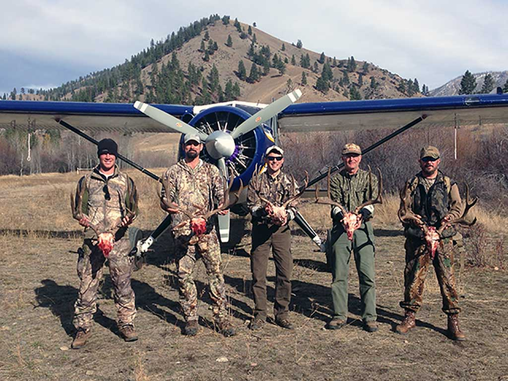Five Mule Deer Trophies - Outfitter Steve Zettel
