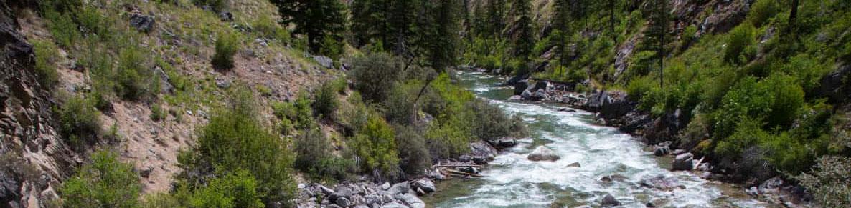 Big Creek - Frank Church River of No Return -Idaho Wilderness Company