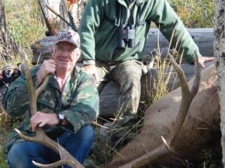 Middle Fork Bull Elk - Idaho Wilderness Company - Outfitter Steve Zettel