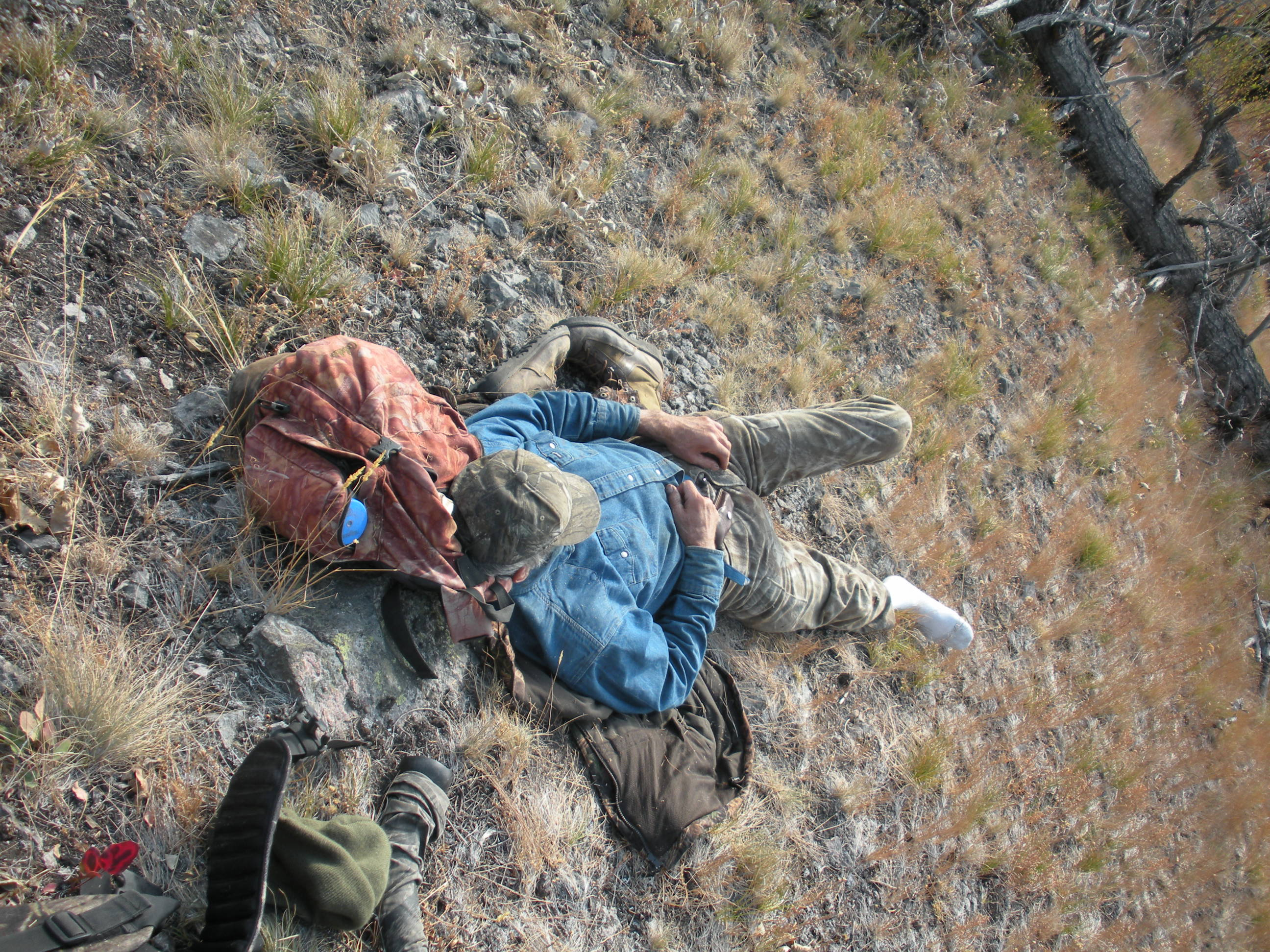 Life is Good - Idaho Wilderness Company Resting in the Frank Church River of No Return