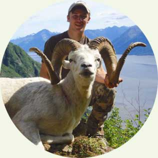 About Steven Zettel with a Doll Ram - Idaho Wilderness Company Hunting Guide